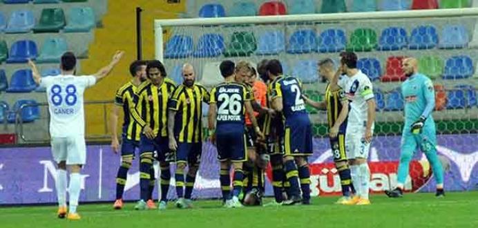 Kayseri Erciyesspor'dan penaltı tepkisi
