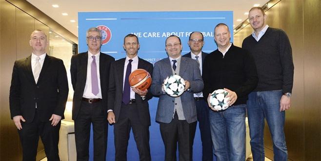 FIBA ve UEFA'dan iş birliği için ilk adım