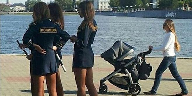 Rus polisine Türkiye yasak...