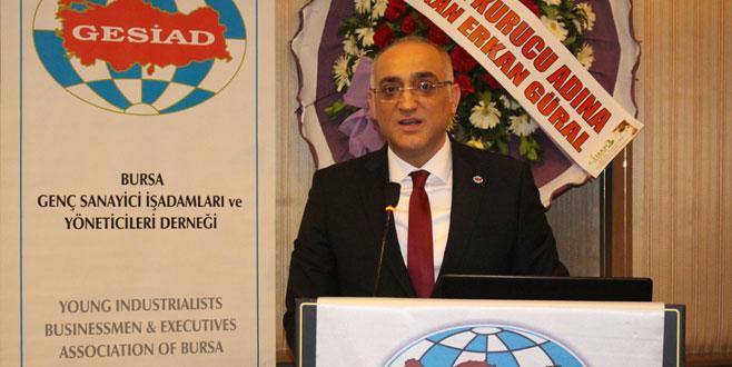 GESİAD'ın yeni başkanı Kerim Demiral