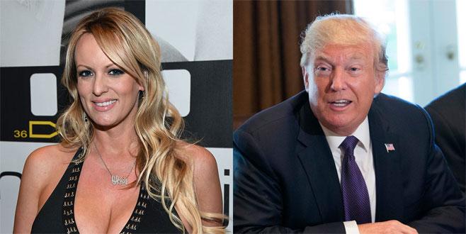 Trump'tan porno yıldızına 130 bin dolar sus payı