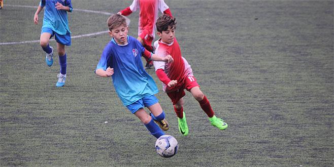Elmasbahçe'den net skor: 2-0