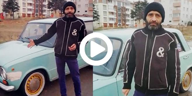 Muayeneden geçemeyen 'Hacı Murat' sahibinin videosu izlenme rekoru kırıyor