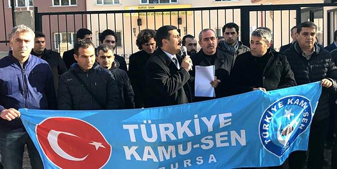 'Haklarımız için mücadeleye devam edeceğiz'