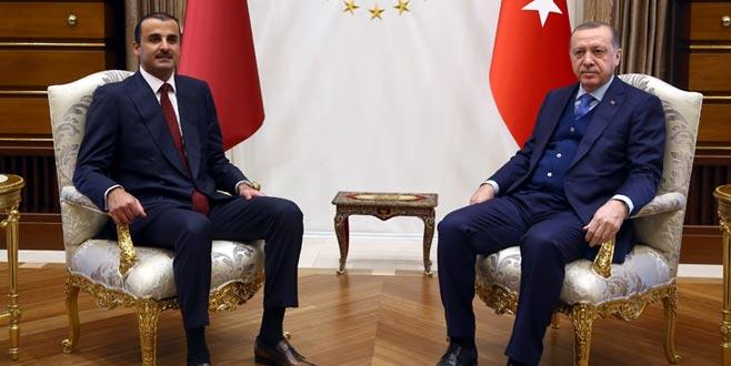 Katar Emiri Ankara'da