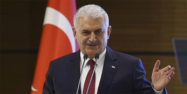 Başbakan Yıldım: NATO'nun sınırlarını korumak, terör gruplarına mı kaldı