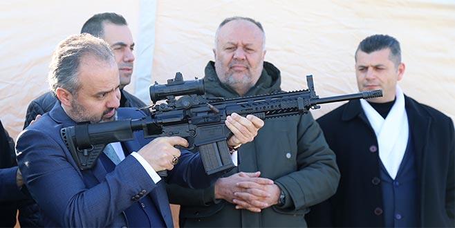 Başkan Aktaş, MPT-76'yı test etti