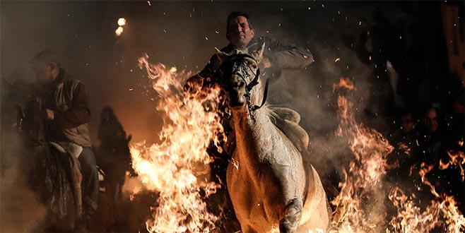 İspanyol geleneği: Atlar ve ateş