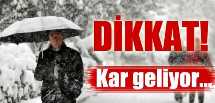 Bursalılar dikkat! Balkanlar'dan kar geliyor