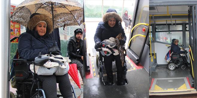 Otobüs şoförlerinden özel ilgi!