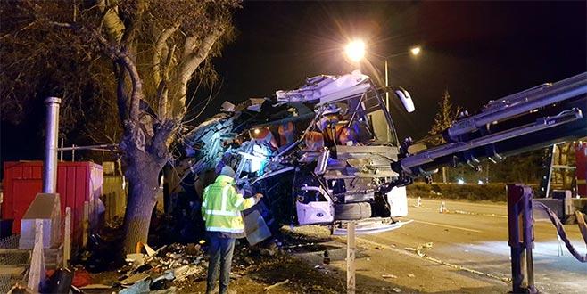 Eskişehir'deki kazada ölenlerin kimlikleri belirlendi