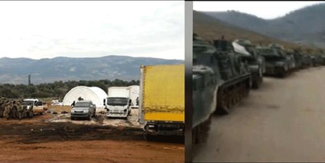 Türk askerinin Afrin'deki ilk görüntüleri...