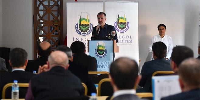 İnegöl Belediyesi 2017 yılını değerlendirdi