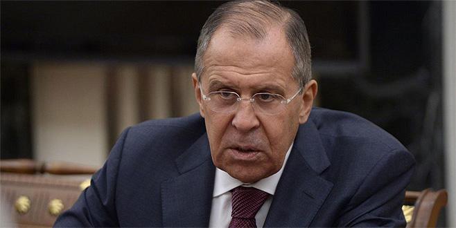 Lavrov'dan ABD'ye Suriye eleştirisi