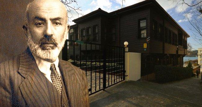 Ünlü şarkıcı, Mehmet Akif Ersoy'un evini sattı