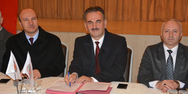 Gemlik Belediyesi'nde toplu sözleşme imzalandı