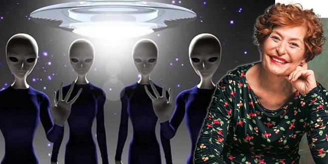 Yılın gazetecisinden müthiş iddia:  'Uzaylıları gözümle gördüm'