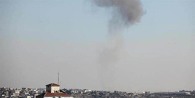 'İsrail Suriye'ye saldırdı' iddiası