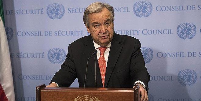 Guterres'den Kudüs açıklaması