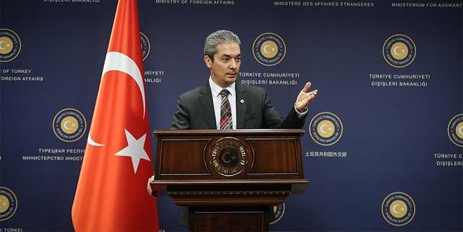 Dışişleri Sözcüsü Aksoy'dan Hollanda açıklaması