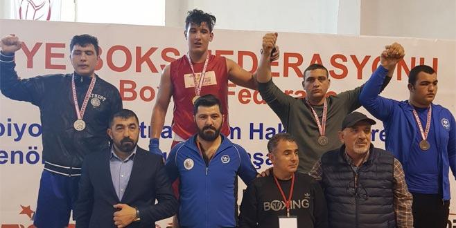 Canberk İstim Türkiye şampiyonu