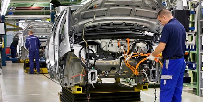 Ocakta otomotiv üretimi yüzde 3 düştü