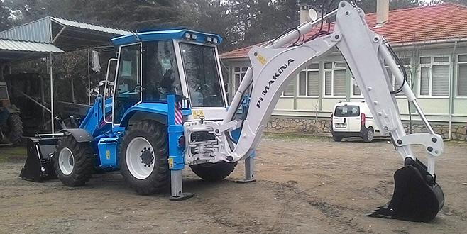 Ormancılara iş makinesi desteği
