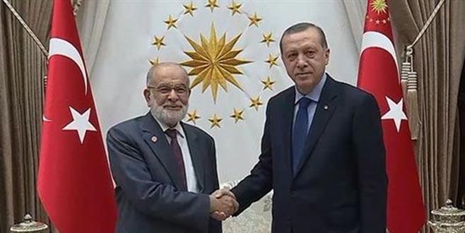 Erdoğan, Karamollaoğlu ile görüşecek