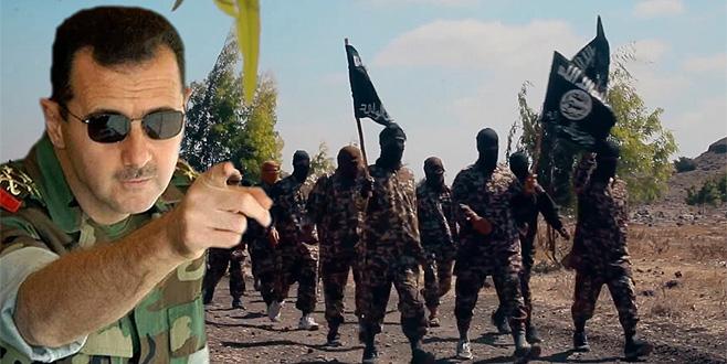 Esad'dan DEAŞ hamlesi