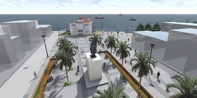 Mütareke Meydanı'na yeni düzenleme