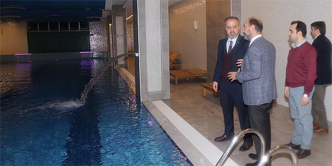 Bursa yeni bir termal tesise kavuşuyor