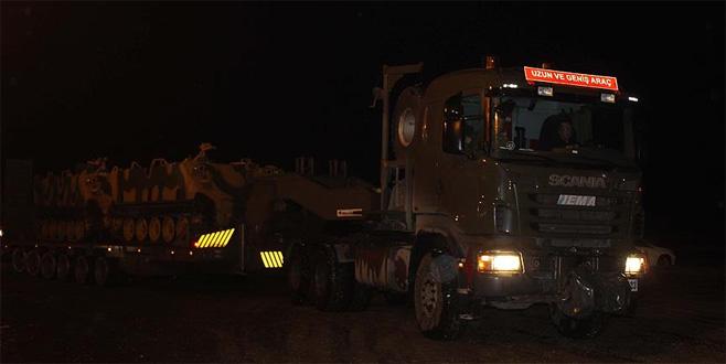 TSK konvoyu, yeni gözlem noktası için İdlib'e intikal etti