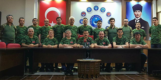 Kamu-Sen'den Mehmetçiğe tam destek