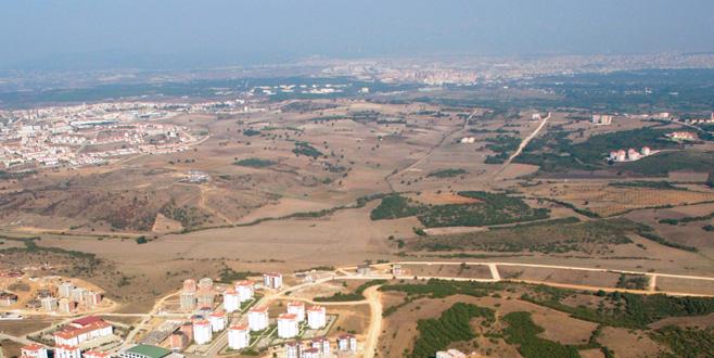 Nilüfer'de yeni bir şehir doğuyor