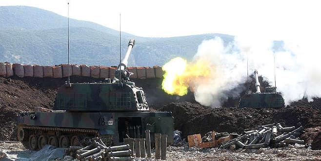Mehmetçik 'Fırtına obüsleri'yle teröristlere bomba yağdırıyor