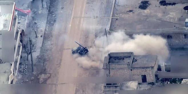 Afrin cephesinden sıcak çatışma görüntüleri
