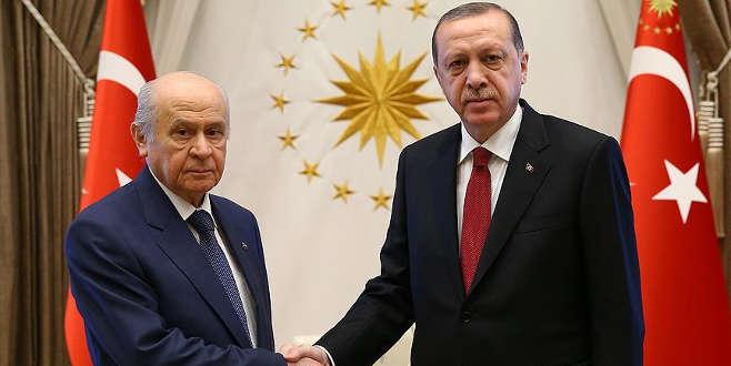Erdoğan ve Bahçeli Milli Mutabakat Komisyonu toplantısına katılacak