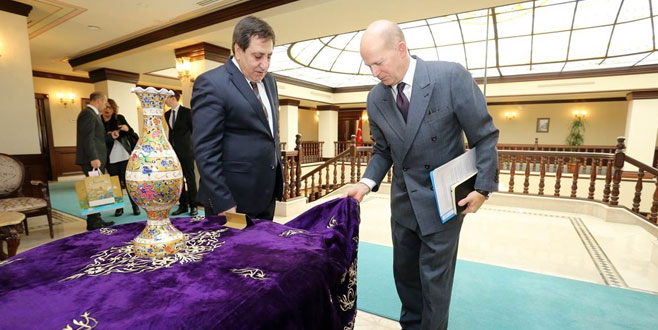 İngiltere Büyükelçisi Bursa'da