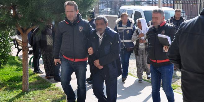 Karacabey'de uyuşturucu operasyonu: 3 tutuklama