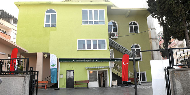 Osmangazi, Hoca Camii yeniledi