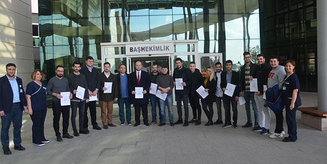 Mudanya'da AK Partili gençlerden anlamlı bağış