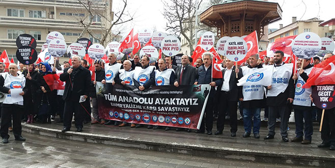 Memur-Sen'den 'Zeytin Dalı'na destek