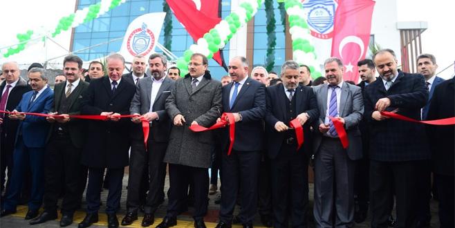 Bal-Göç'ün yeni hizmet binası açıldı