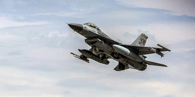 Irak'ın kuzeyinde saldırı hazırlığındaki teröristlere hava harekatı