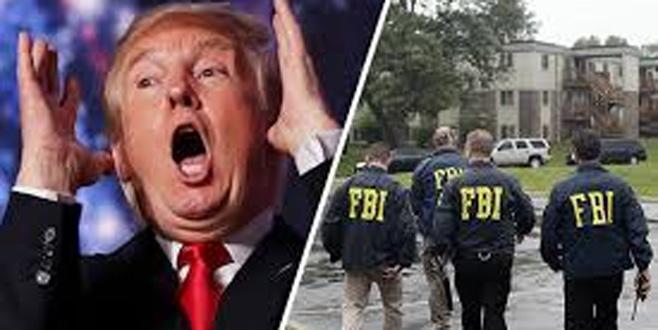 Trump FBI'ya yüklendi