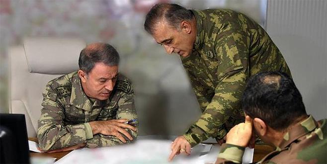 Genelkurmay Başkanı Orgeneral Akar sınır hattında