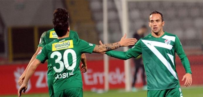 Bursaspor'a kupa morali