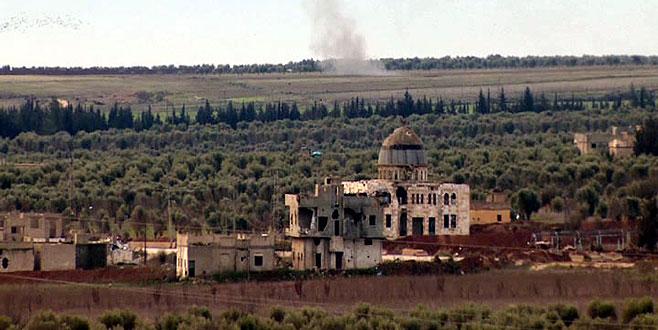 Teröristler camiyi karargaha çevirdi