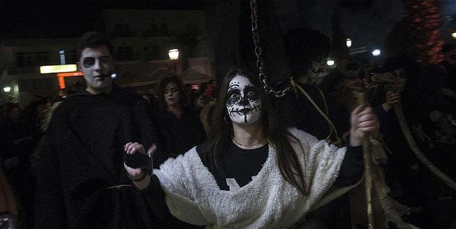 Yunanistan'da 'Hayalet Gecesi' festivali