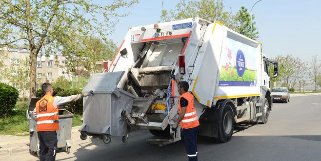 4 yılda 713 bin ton katı atık toplandı